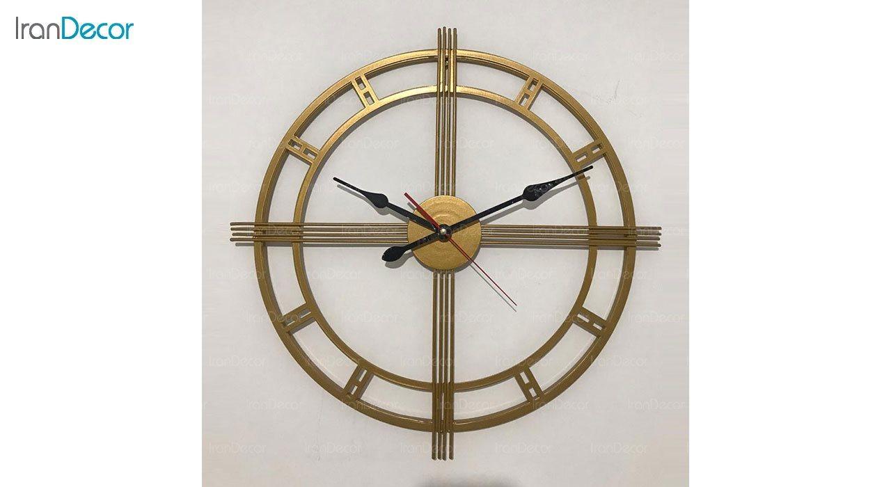 ساعت دیواری فلزی رویال مدل MZ123