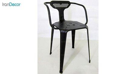 صندلی دسته دار فلزی مدل بیتا کد 131 از نهال سان