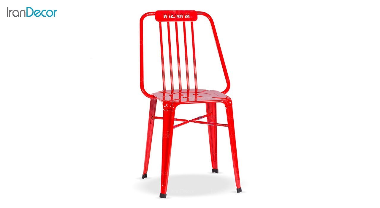 صندلی فلزی نهال سان مدل نوید طرح طاووسی