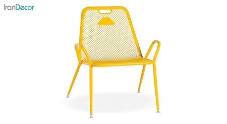 صندلی فلزی مدل نسیم طرح ریلکسی کد 1A4 از نهال سان