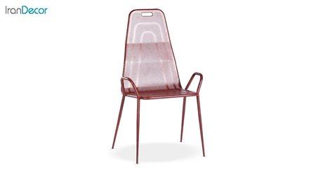 صندلی ناهار خوری فلزی مدل نسیم طرح ورسای کد 181 از نهال سان