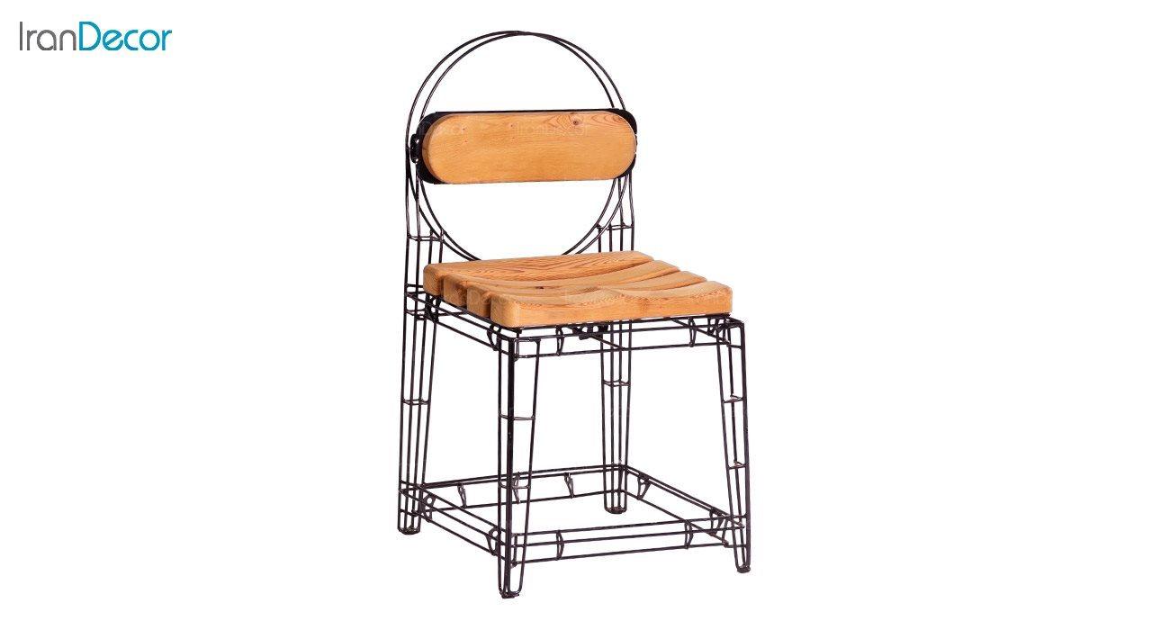 صندلی میله ای نهال سان با کفی ترموود کد 100