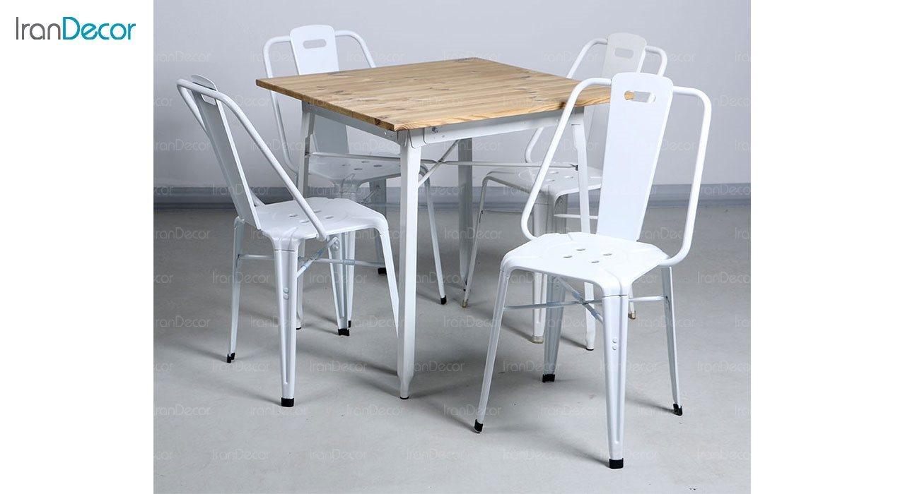 سرویس میز پاراکس و صندلی نوید با کفی ترمو وود نهال سان