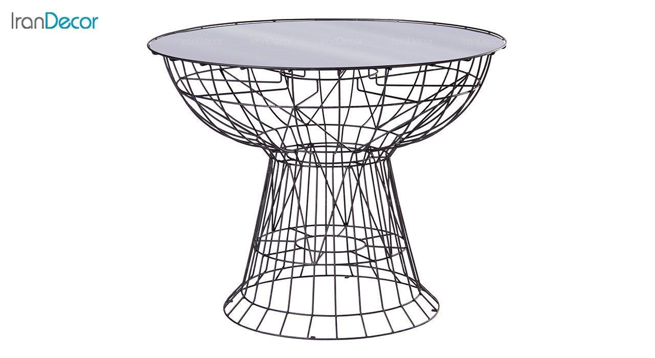 میز میله ای نهال سان کد 974
