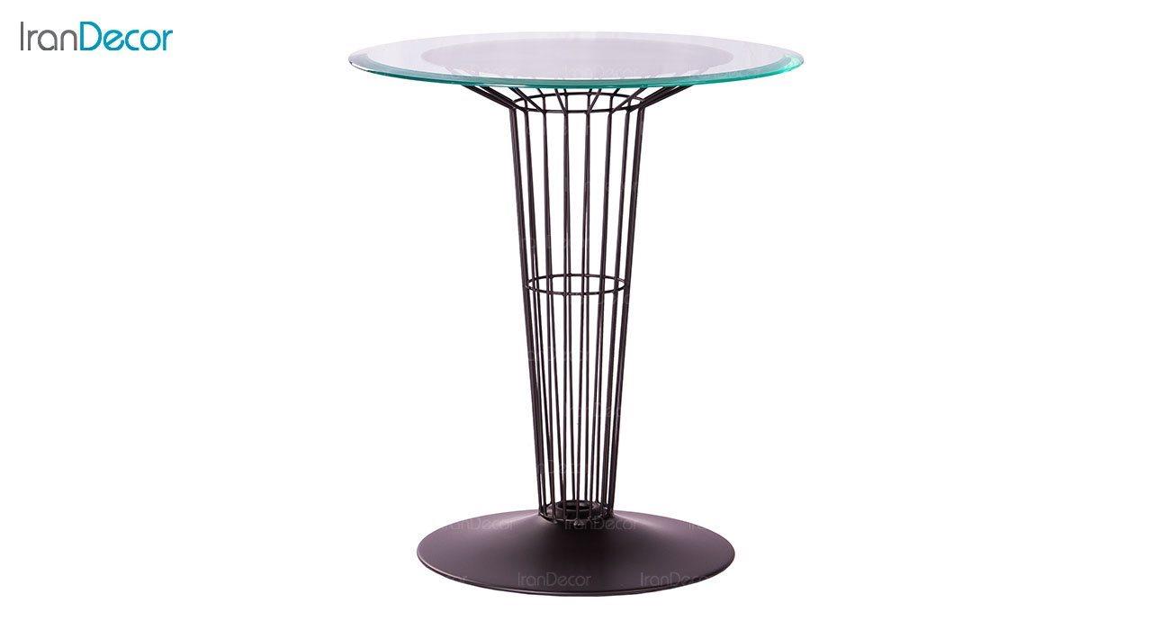 میز فلزی پایه مخروطی نهال سان کد 144