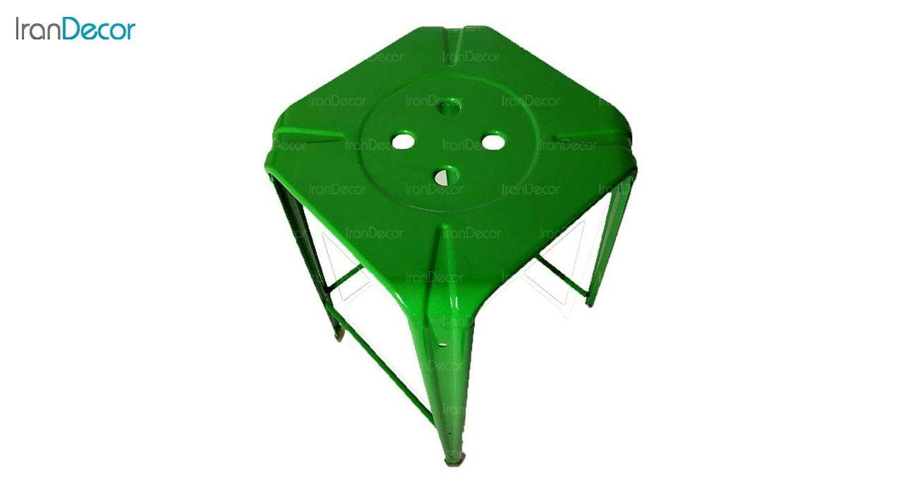 چهارپایه بلند فلزی نهال سان مدل بیتا کد 112 ارتفاع 65 سانتی متر