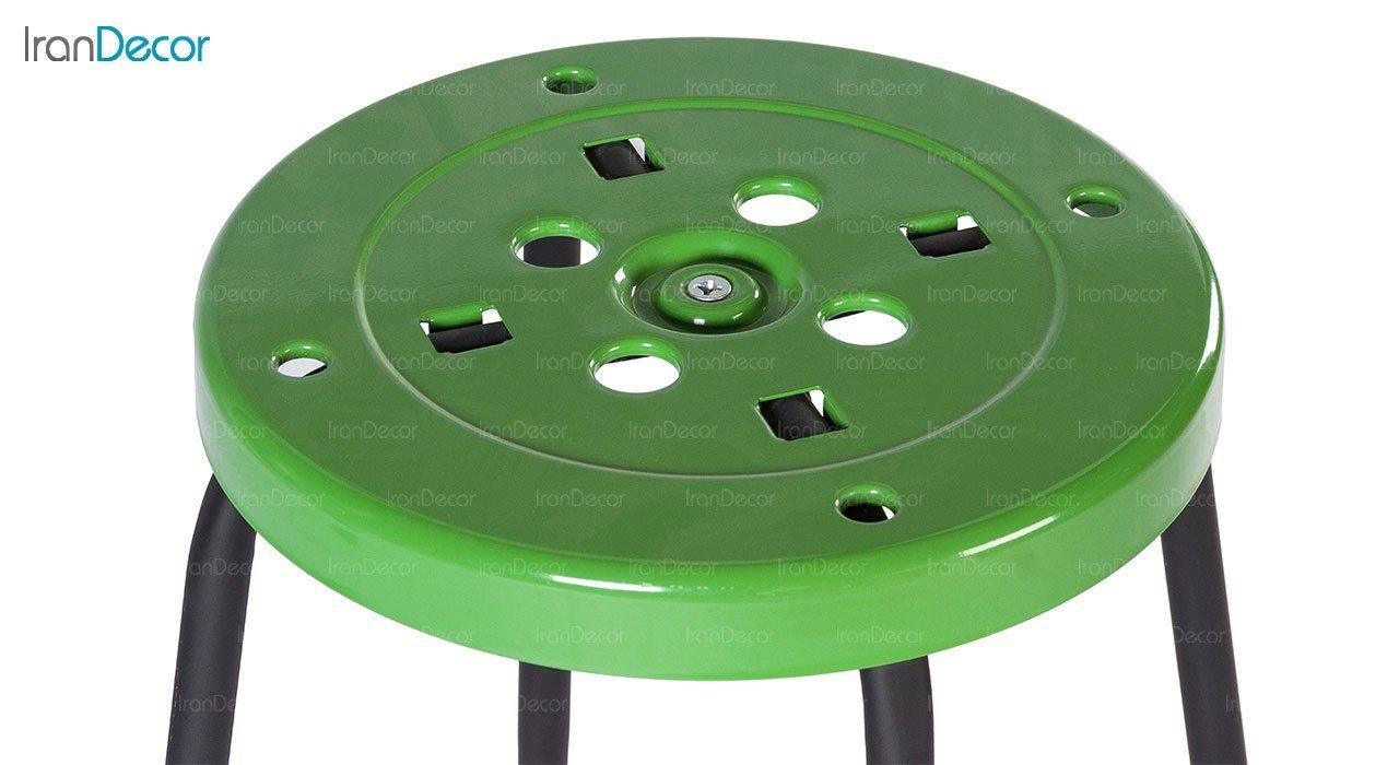 چهارپایه فلزی مونتاژی نهال سان مدل پلیکان