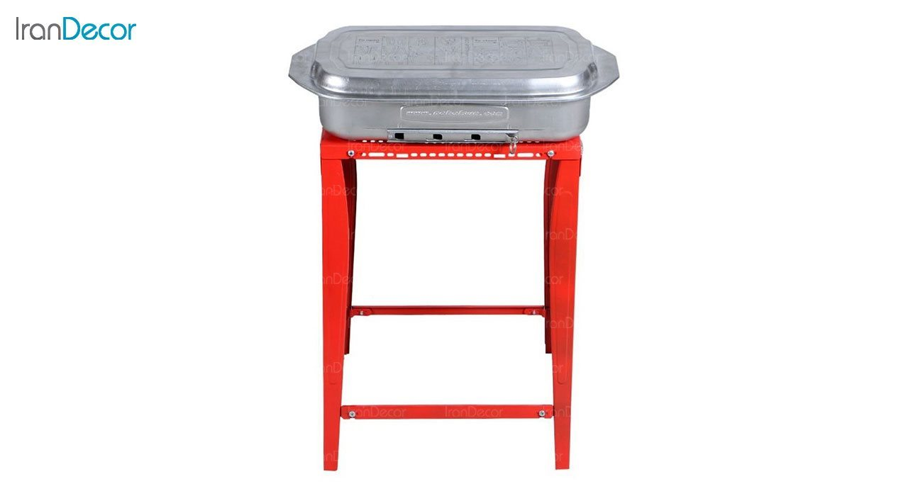 کباب پز با میز نهال سان مدل BBQ کد 110
