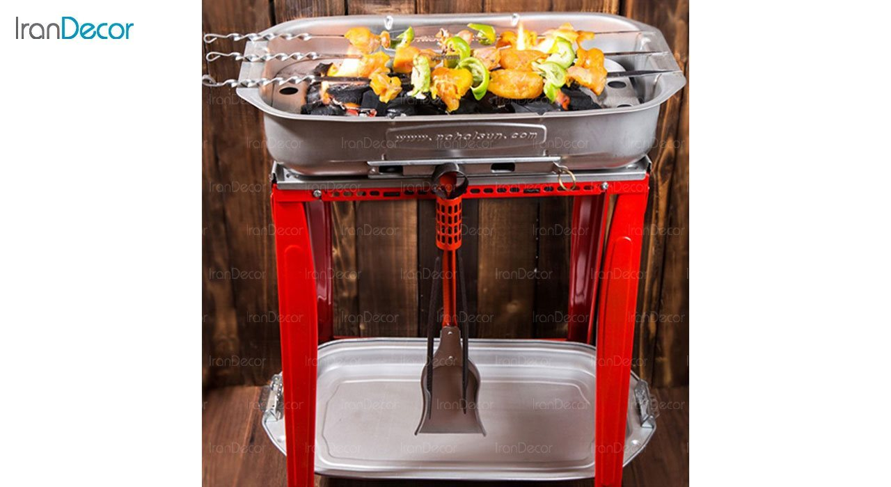 کباب پز نهال سان مدل BBQ صادراتی کد 100