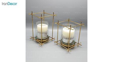 ست شمعدان مدل داربستی 101104