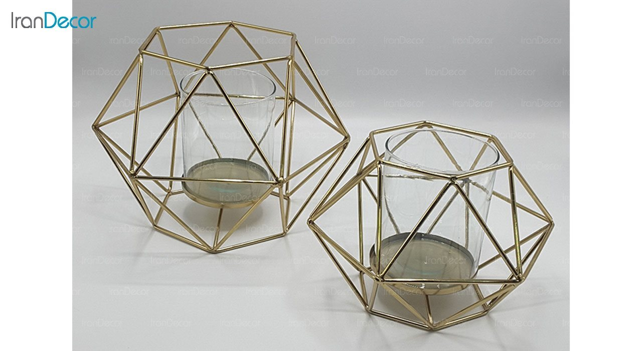 ست شمعدان مدل مثلثی 10007