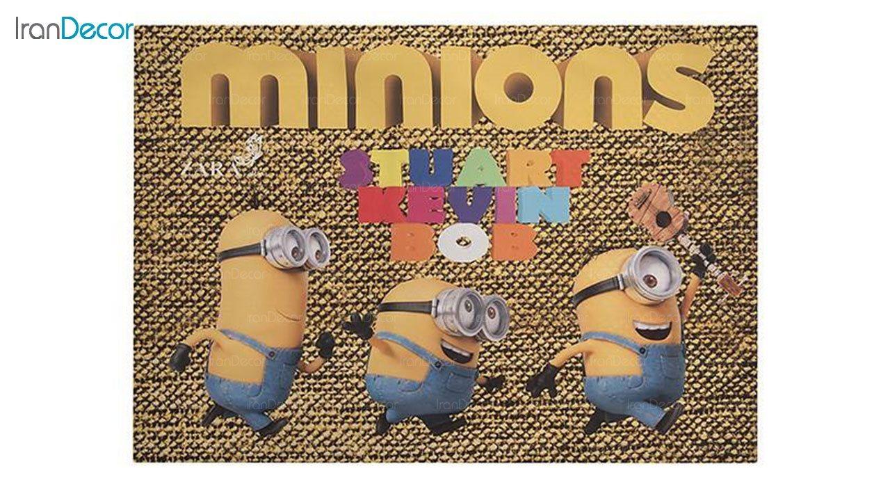 ست روتختی کودک نرم آسا مدل مینیون ها Minions