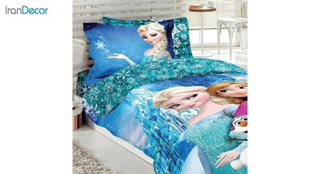 ست روتختی دخترانه نرم آسا مدل السا Elsa