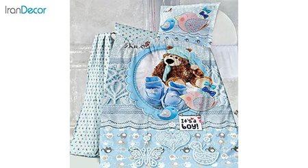 ست روتختی نوزاد نرم آسا مدل Cute Bear