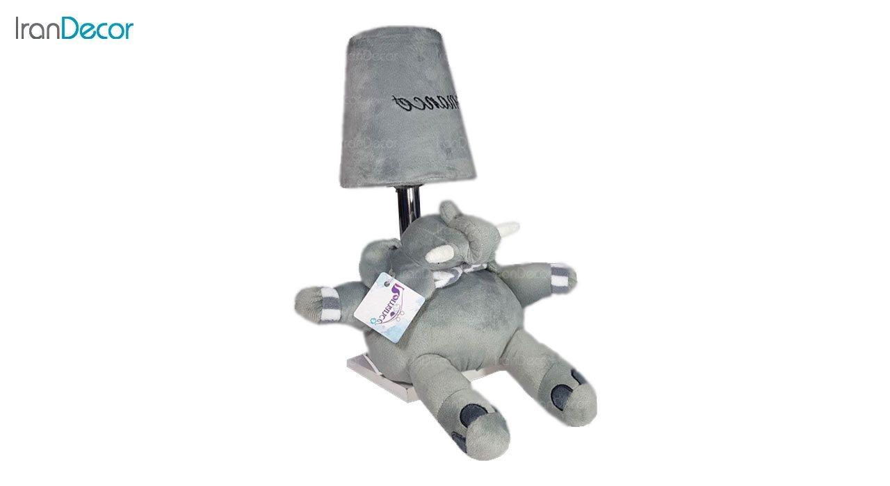 آباژور عروسکی طرح فیل رومنس