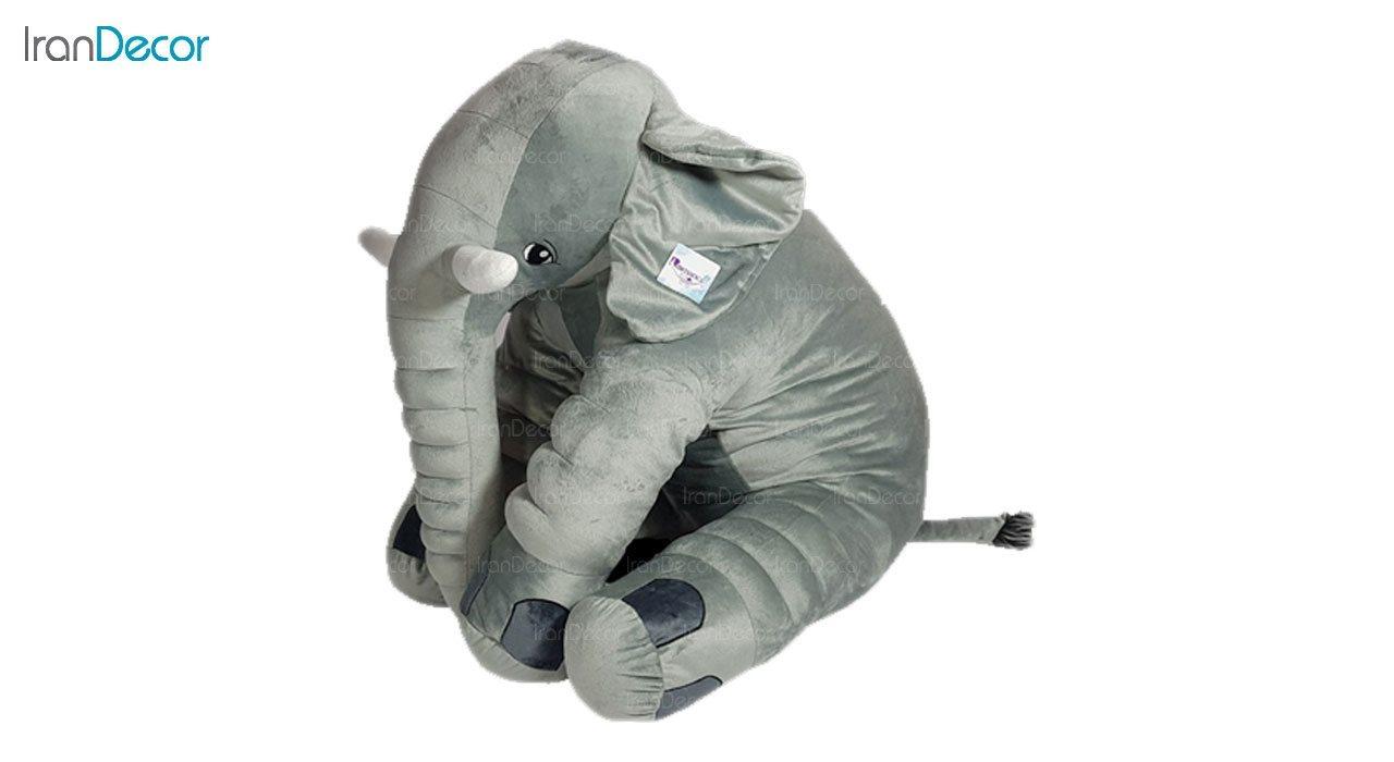 بالش عروسکی رومنس طرح فیل