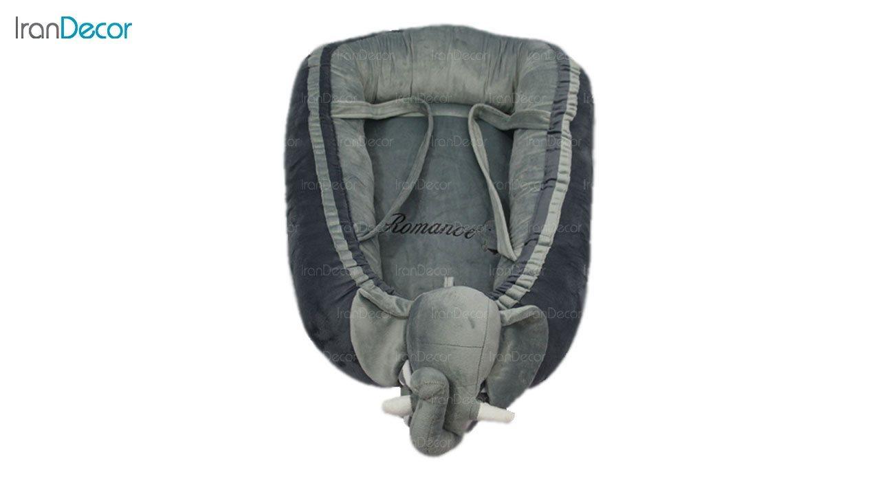 تشک نوزاد لبه دار رومنس طرح فیل