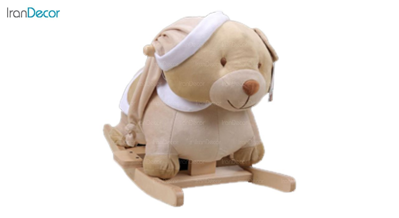 صندلی راکر عروسکی رومنس طرح خرس