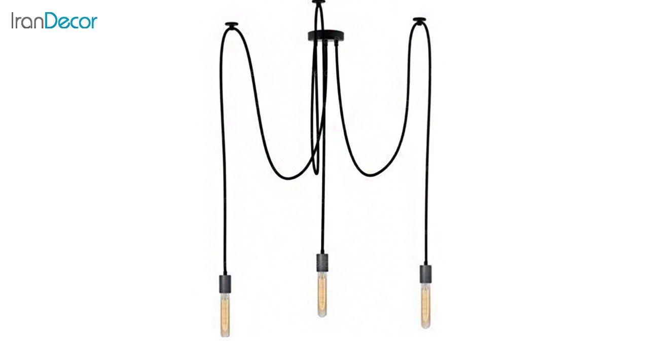 چراغ آویز مدرن 3 شعله آرتا مدل اسپایدار کد 181/3