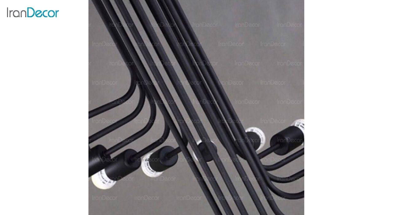 تصویر چراغ سقفی مدرن 10 شعله آرتا مدل 122/10