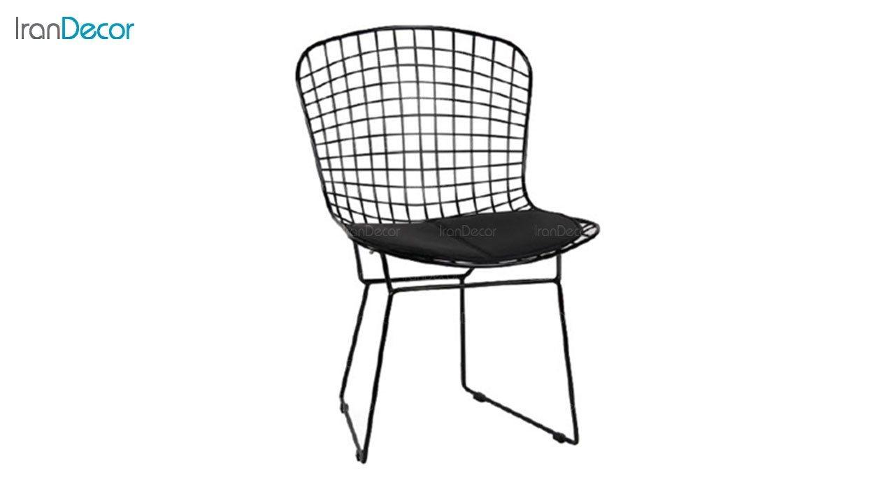 تصویر صندلی فلزی استیل هامون مدل پارمیدا PA63-P