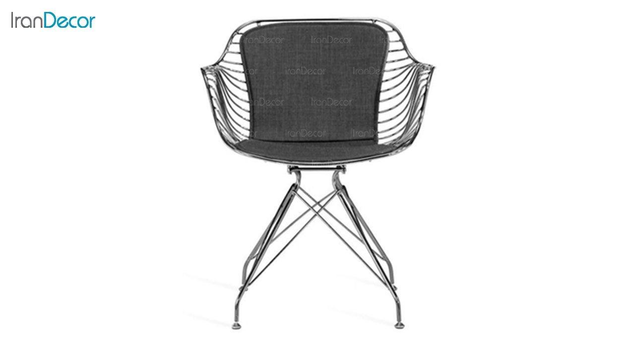 تصویر صندلی فلزی استیل هامون مدل فلورانس FLI-P