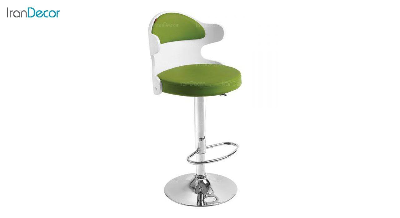 تصویر صندلی اپن هوگر مدل BH360 با پشتی سفید