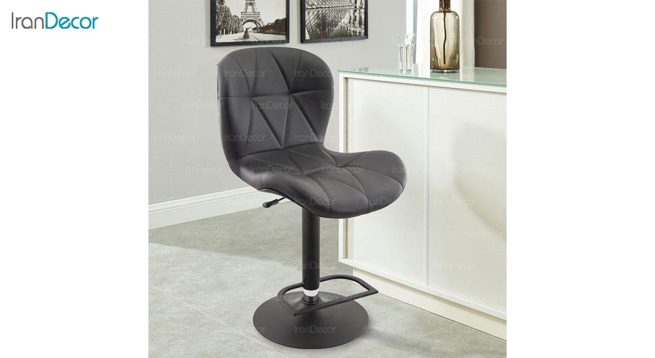 عکس صندلی اپن هوگر مدل BH820B با پایه مشکی الکترو استاتیک
