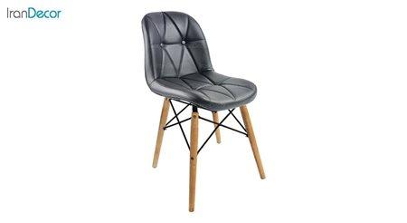 تصویر صندلی پایه ایفلی چوبی هوگر مدل SH840W
