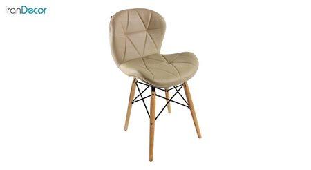 تصویر صندلی پایه ایفلی چوبی هوگر مدل SH830W