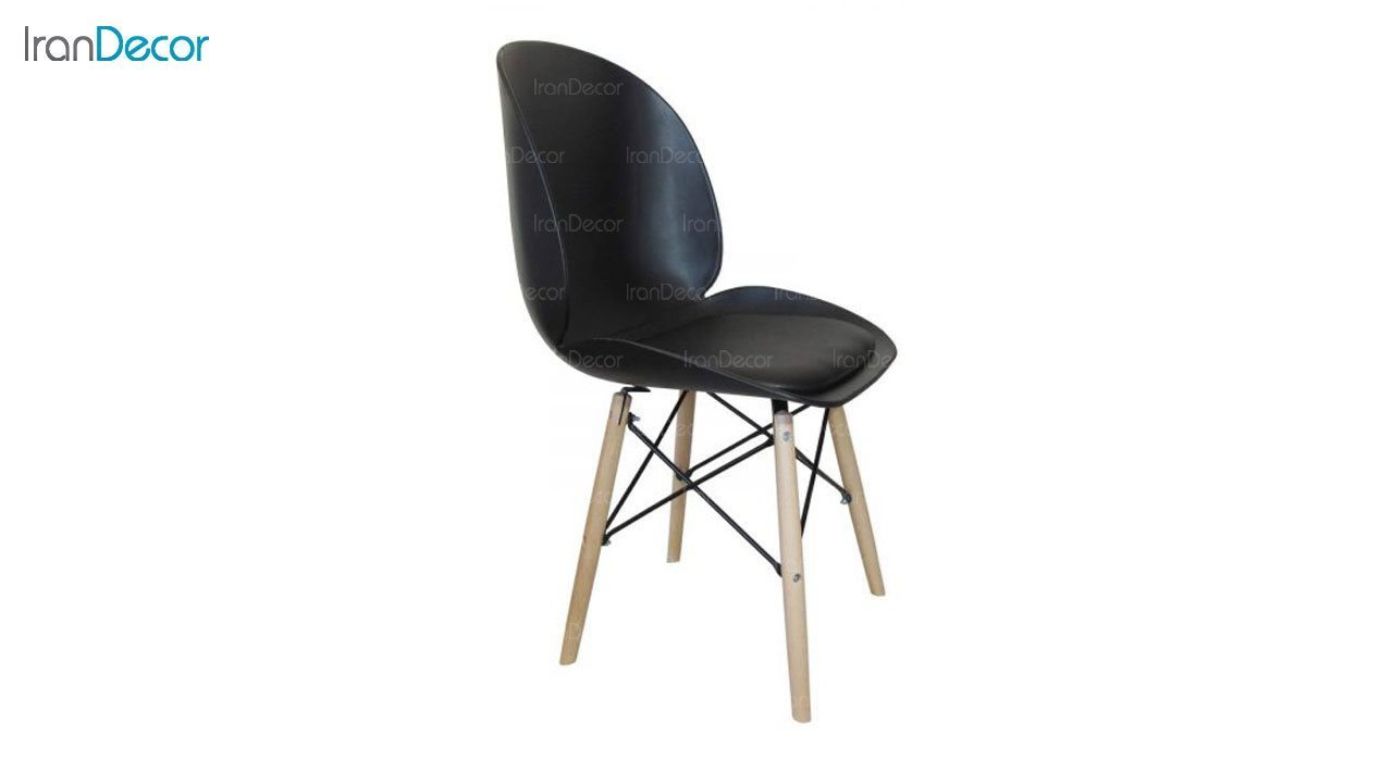عکس صندلی پایه ایفلی چوبی هوگر مدل SH103W