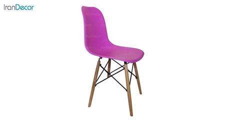 تصویر صندلی پایه ایفلی چوبی هوگر مدل SH102W