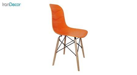 تصویر صندلی پایه ایفلی چوبی هوگر مدل SH101W