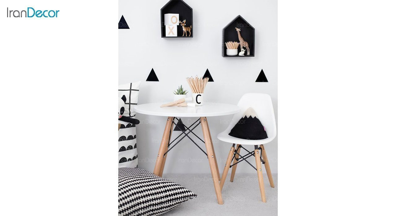 عکس ست میز و صندلی کودک هوگر مدل MK80