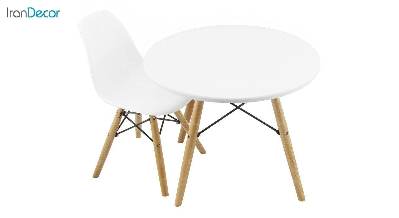 تصویر ست میز و صندلی کودک هوگر مدل MK80