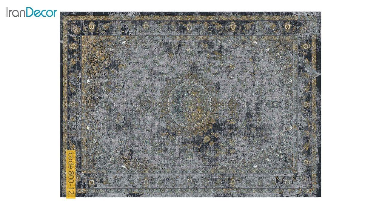 تصویر فرش وینتیج برنتین مدل 800-12