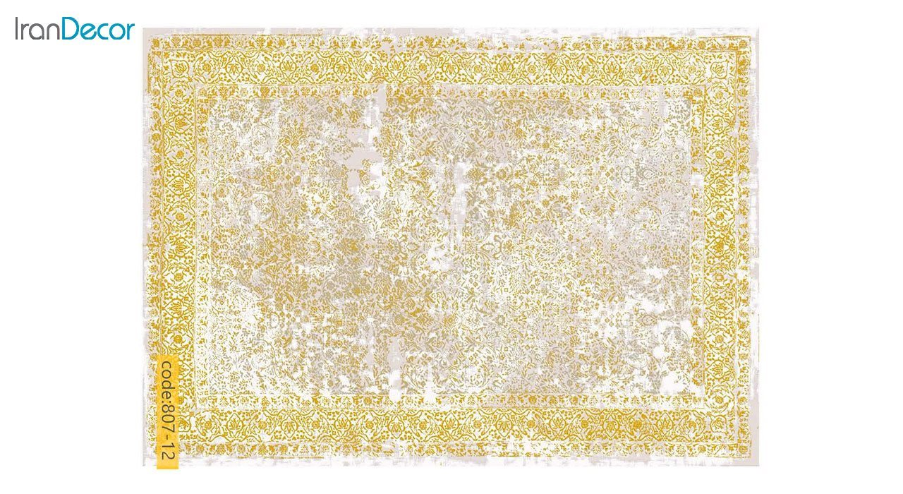تصویر فرش وینتیج برنتین مدل 807-12