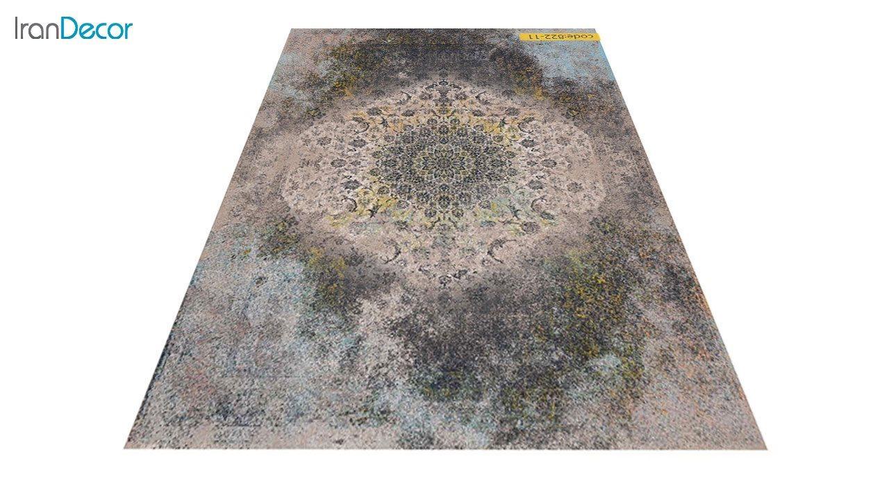 عکس فرش وینتیج برنتین مدل 822-11