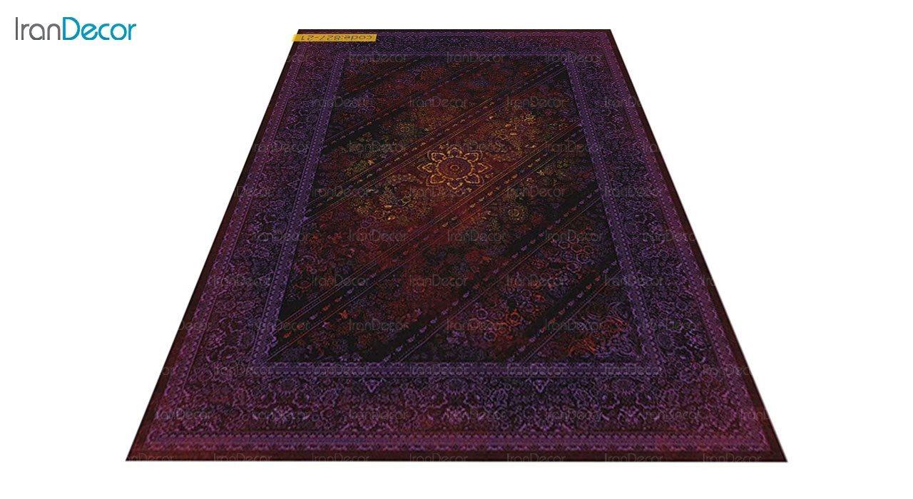 عکس فرش وینتیج برنتین مدل 827-21