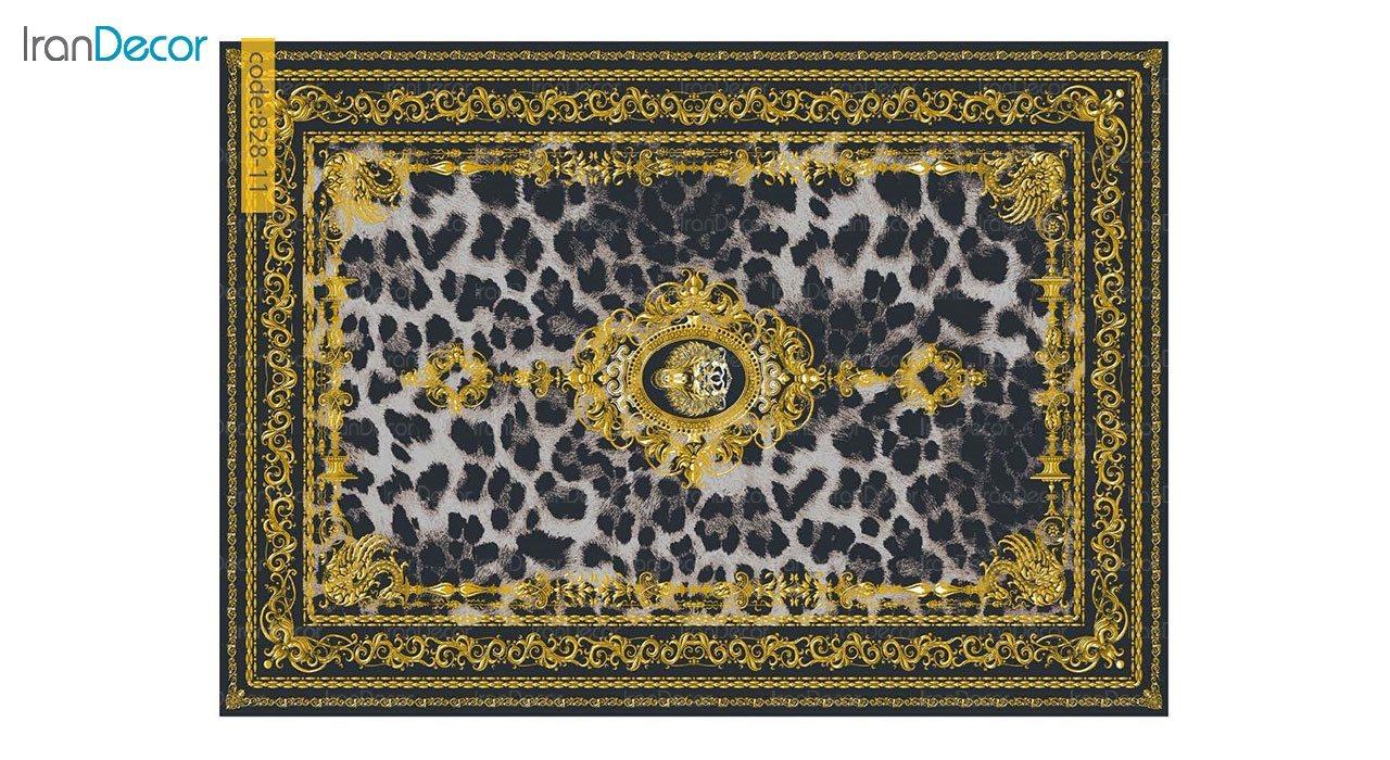 تصویر فرش وینتیج برنتین مدل 828-11