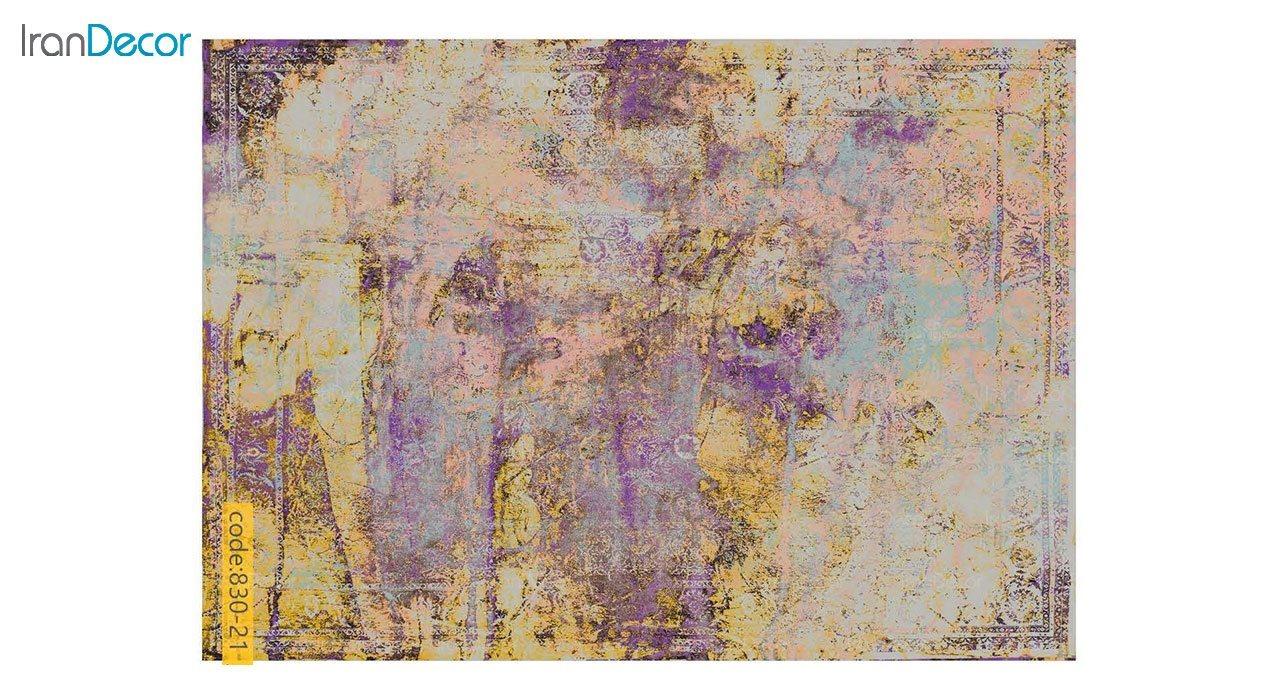 تصویر فرش وینتیج برنتین مدل 830-21