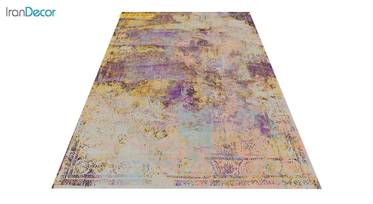 عکس فرش وینتیج برنتین مدل 830-21