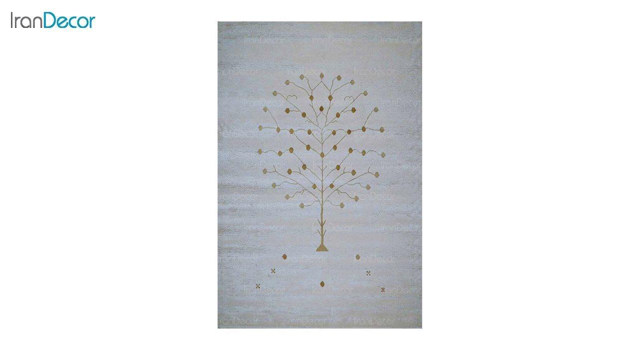 تصویر فرش طرح گبه برنتین مدل 129-22