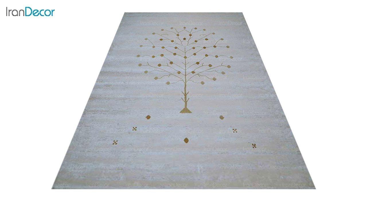 عکس فرش طرح گبه برنتین مدل 129-22