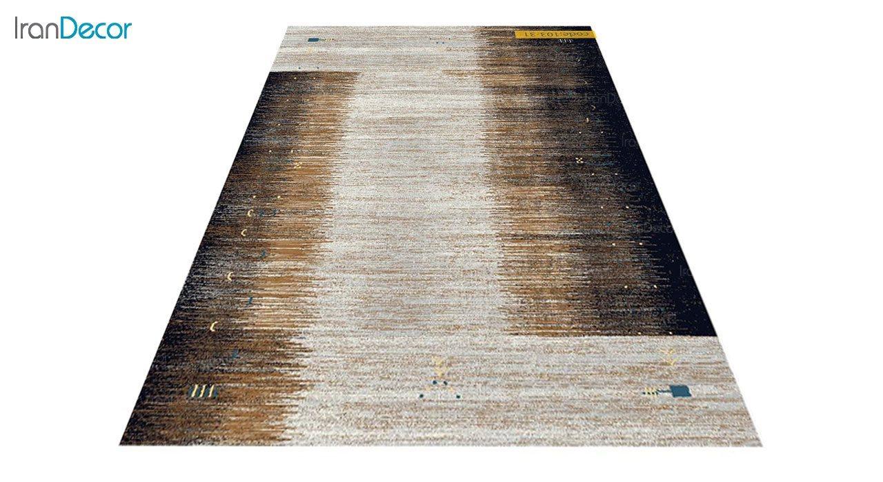 تصویر فرش طرح گبه برنتین مدل 103-31