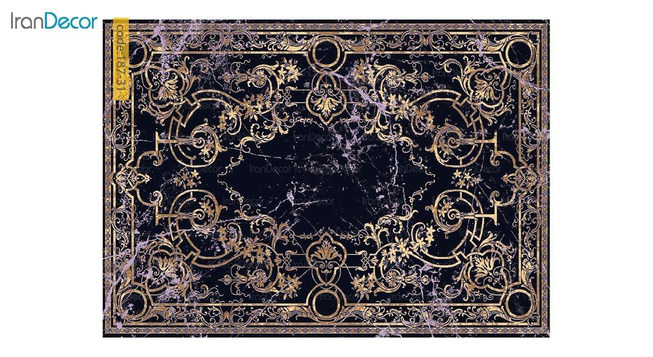 تصویر فرش مدرن برنتین طرح یونیک مدل 187-31