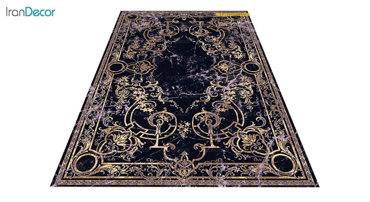 عکس فرش مدرن برنتین طرح یونیک مدل 187-31