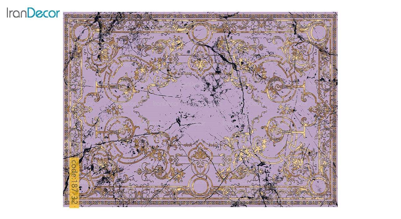 تصویر فرش مدرن برنتین طرح یونیک مدل 187-32