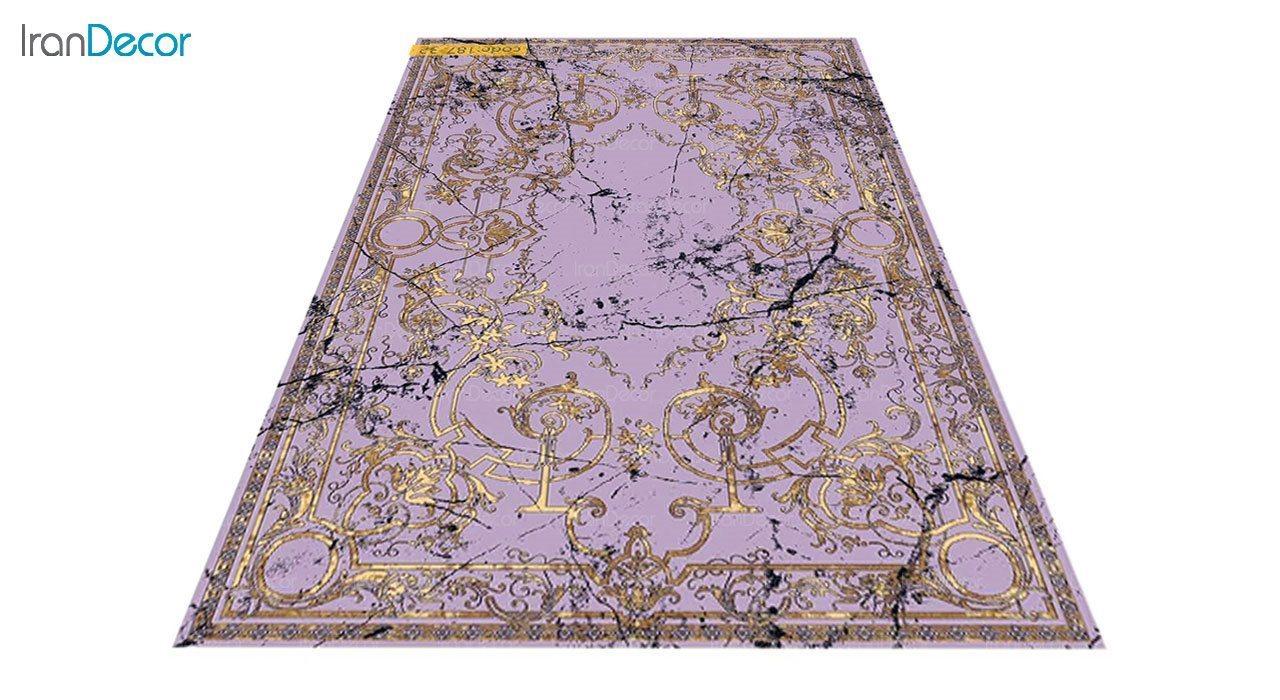 عکس فرش مدرن برنتین طرح یونیک مدل 187-32