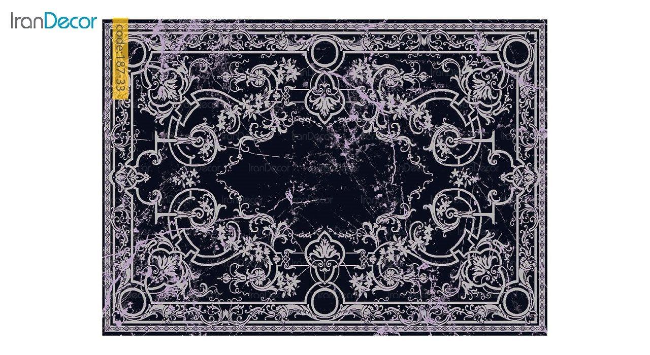 تصویر فرش مدرن برنتین طرح یونیک مدل 187-33